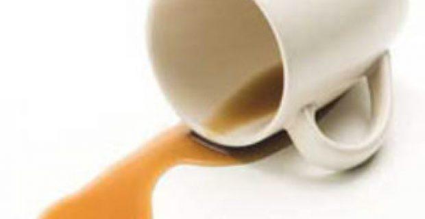 Lo que tengas en la taza, es lo que se derramaría