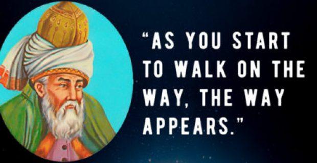 Le preguntaron a Rumi, maestro espiritual persa del siglo XIII